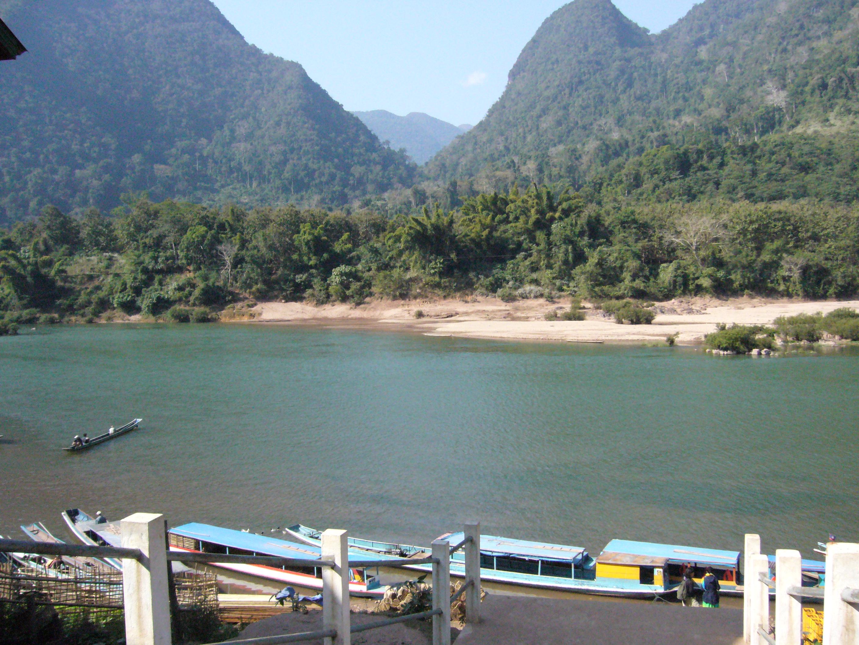 vue du bungalow de Mongnoi