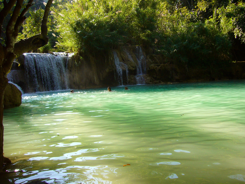chute d eau de Louangprabang